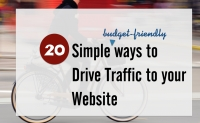 Tips to drive Traffic to your Website