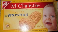 RECALL: Mr. Christie's brand Arrowroot Biscuits recalled