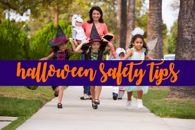 Halloween Safety Tips for Parents & Homeowners
