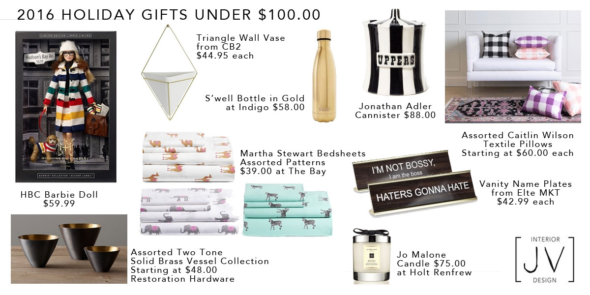 Joey's 2016 Holiday Gift Guide