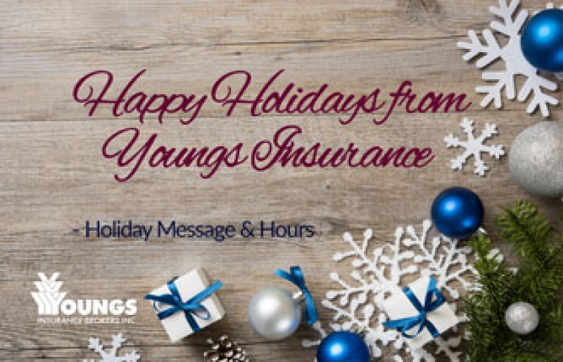 2016 | Happy Holidays from Youngs Insurance