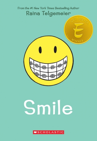 Books About Braces - 'Smile' by Raina Telgemeier