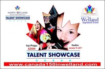 Looking for Welland's Talent of Canada 150 Competition