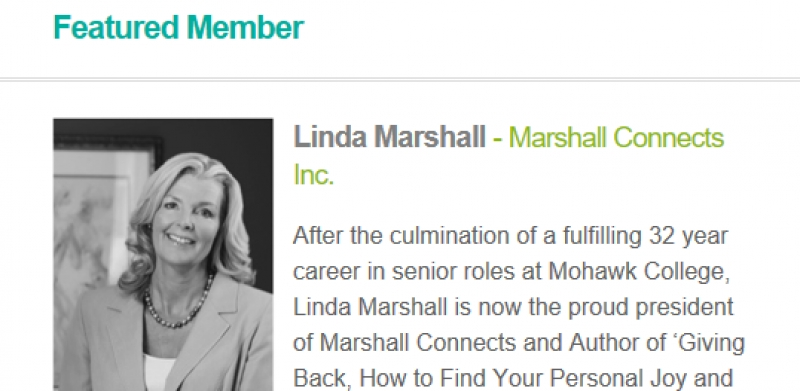 the pipeline: Linda Marshall, Marshall Connects Inc. Featured