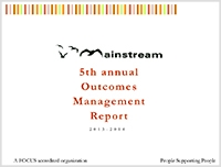 Outcome Management Report: 2013-2014