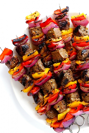 Korean Steak Kabobs with 2016 Cabernet Franc Rosé
