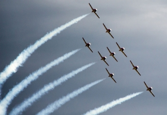 Canadian Forces Snowbirds Coming to Fort Erie
