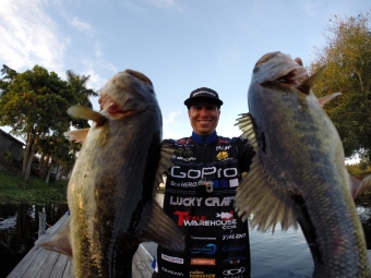The Rod Glove Pro Bass Elite Brent Ehrler, an angler's perspective