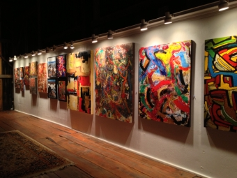 Max Kalin's Moving Away Exhibition & Art Sale
