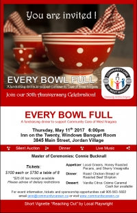 50th Anniversary Event: The Every Bowl Full Fundraiser
