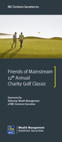 Friends of Mainstream 12th Annual Charity Golf Classic