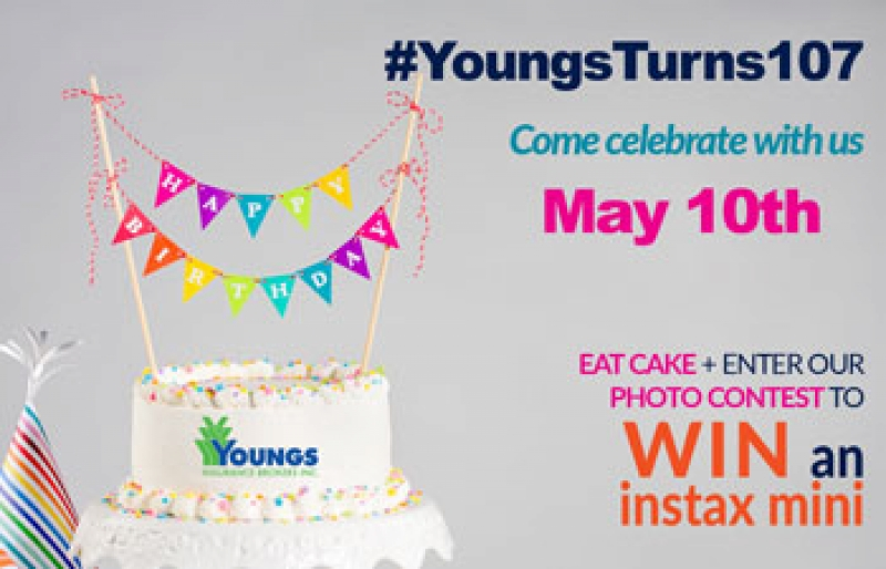 #YoungsTurns107 | Come Celebrate with Us!