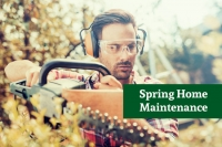 Spring Maintenance for the Home