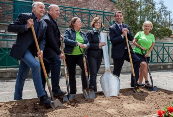 CCWN Hosts Ground Breaking Ceremony - 2016