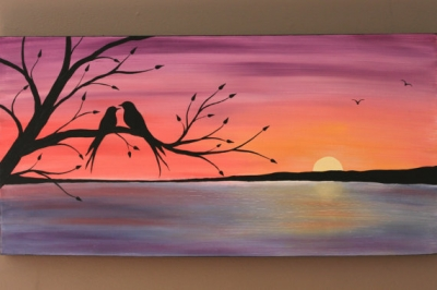 Paint Night at Lakeview Wine Co.
