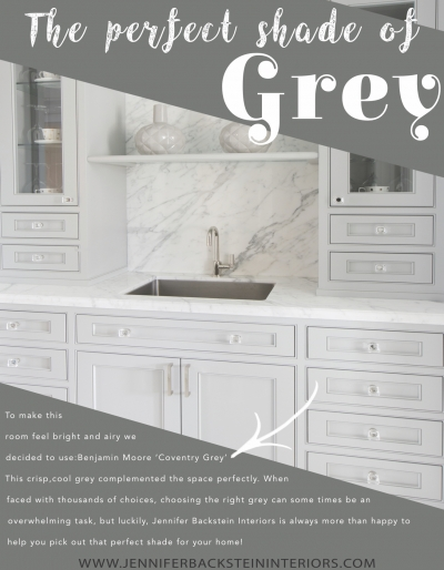 DESIGNER QUICK TIP:  Selecting The Perfect Shade of Grey