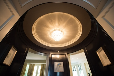 Stunning Rotunda, Entrance &  Powder Room