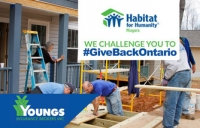 Giving Back | Habitat for Humanity
