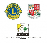 Merritton Lions Club, May Court Club of St. Catharines, Land Care Niagara – Naturalized Playground Bronze Sponsors