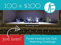 Join The Foster Festival 100 @ $100 Club