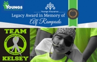 Giving Back | Alf Rampado Legacy Award | Team Kelsey