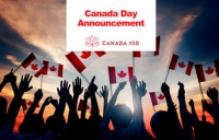 Canada Day Announcement